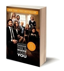 leave movie tie in book cover
